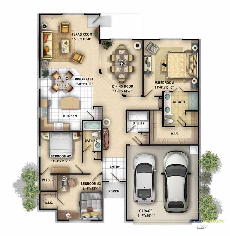 Luxury apartment ocean